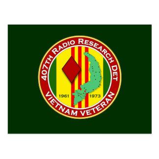 407th RRD - ASA Vietnam Postcard