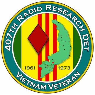 407th RRD - ASA Vietnam Statuette