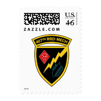 407th RRD M 2 Postage Stamps