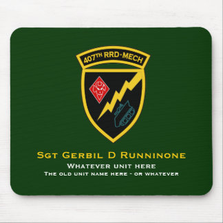 407th RRD - Mech SSI Mouse Pad