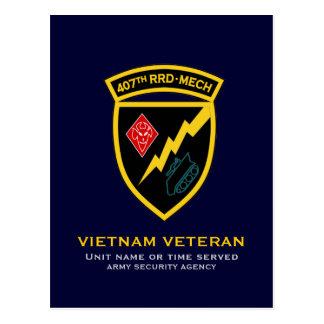 407th RRD - Mech SSI Postcard