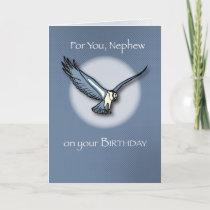 4085 Nephew Eagle Birthday Card