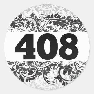 408 PEGATINA REDONDA