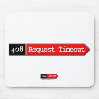 408 - Request Timeout Mouse Pad