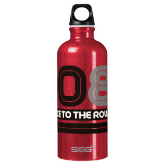408K Race to the Row Aluminum Water Bottle