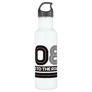 408K Race to the Row Stainless Steel Water Bottle