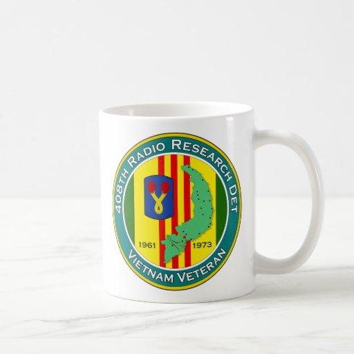 408th RRD - ASA Vietnam Classic White Coffee Mug
