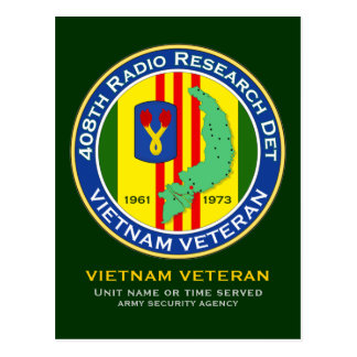 408th RRD - ASA Vietnam Postcard
