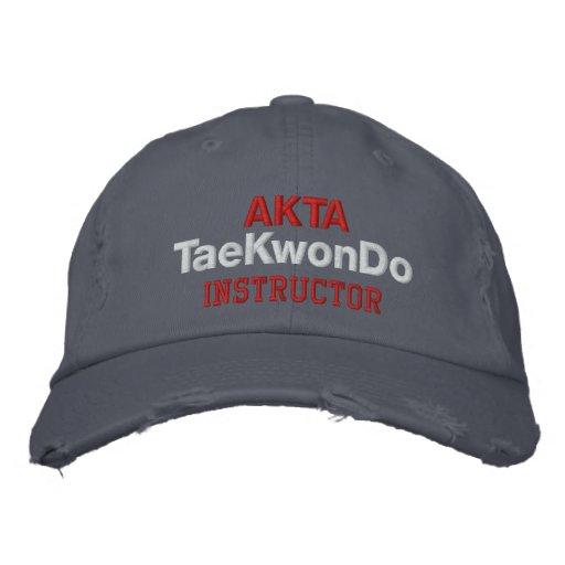 409 AKTA Tae Kwon Do Instructors Hat