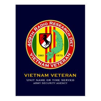409o RRD - ASA Vietnam Tarjeta Postal