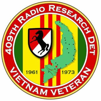 409th RRD - ASA Vietnam Photo Sculpture Keychain