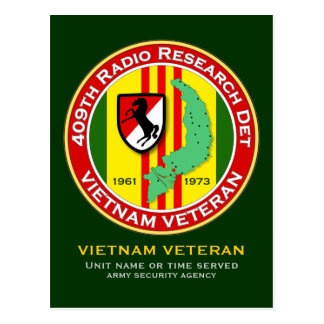 409th RRD - ASA Vietnam Postcard