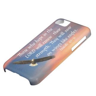 40:31 de Isaías del verso de la biblia del águila Funda Para iPhone 5C
