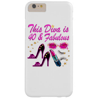 40.a DIVA DE DESLUMBRAMIENTO Funda Para iPhone 6 Plus Barely There