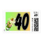 40.a mercancía del cumpleaños sellos