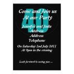 40.a plantilla de la invitación del fiesta invitación 12,7 x 17,8 cm