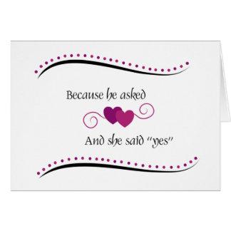 40.a tarjeta personalizada del aniversario de boda