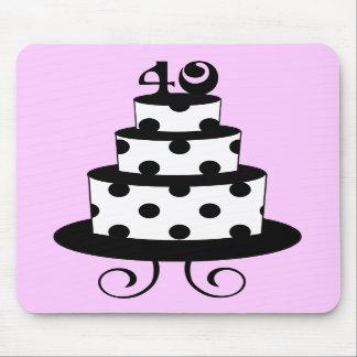 40.a torta del aniversario del cumpleaños del luna tapetes de ratones