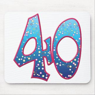 40 Age Rave Mousepad