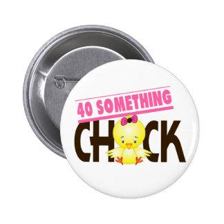 40-Algo polluelo 1 Pin Redondo 5 Cm