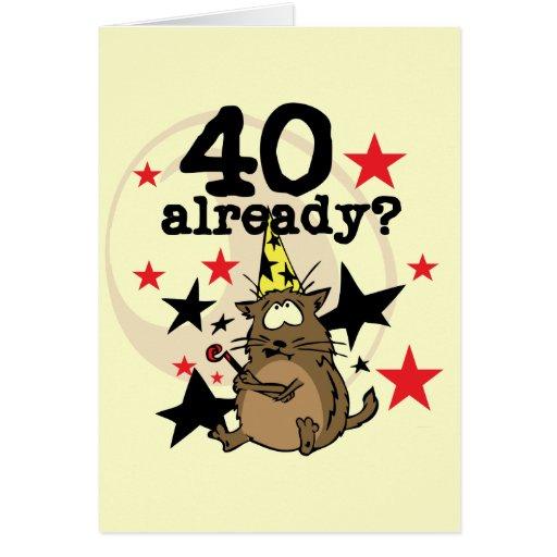 Geburtstagskarten 40 Geburtstag: 40 Already Birthday Card