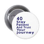 40 American Legend Birthday Designs Button