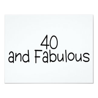 40 and Fabulous 2 Card