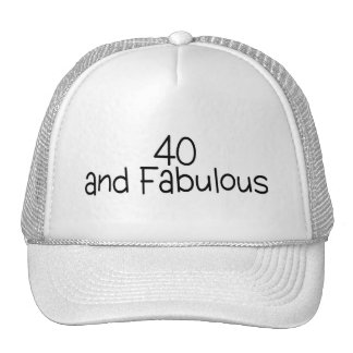 40 and Fabulous 2 Trucker Hat
