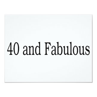 40 And Fabulous Card