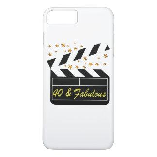 40 AND FABULOUS MOVIE QUEEN iPhone 8 PLUS/7 PLUS CASE