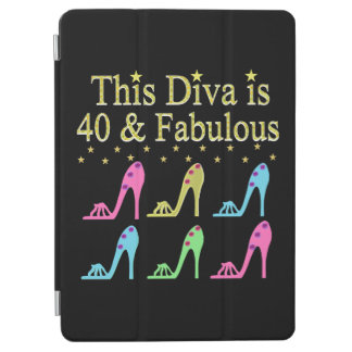 40 AND FABULOUS SHOE QUEEN DESIGN iPad AIR COVER