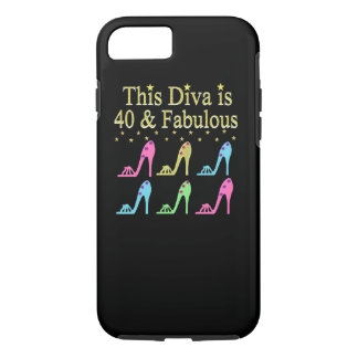 40 AND FABULOUS SHOE QUEEN DESIGN iPhone 8/7 CASE