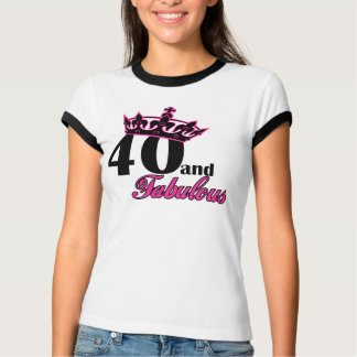 40 and fabulous tees