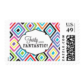 40 and Fantastic! Postage