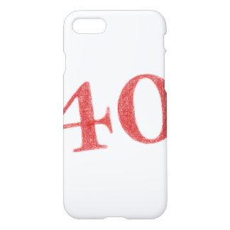 40 años de aniversario funda para iPhone 7