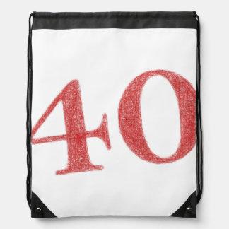 40 años de aniversario mochilas