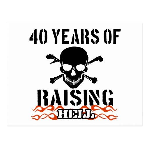 40 años de infierno de aumento postal