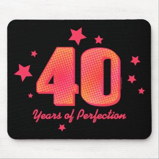 40 años de perfección tapetes de ratones
