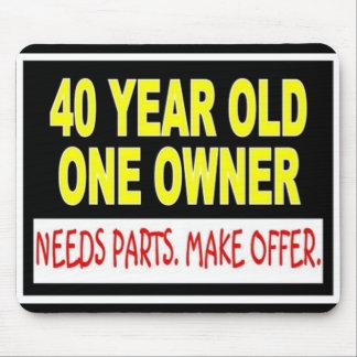 40 años que un dueño necesita piezas hacen oferta alfombrillas de raton