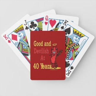 40.as ideas divertidas del regalo de cumpleaños baraja cartas de poker
