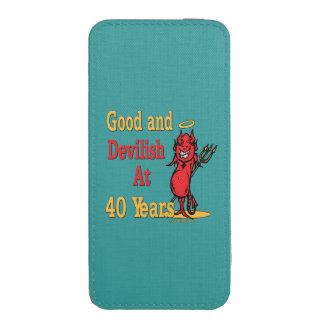 40.as ideas divertidas del regalo de cumpleaños funda acolchada para iPhone