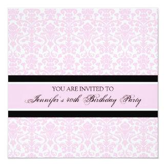 """40.as invitaciones de la fiesta de cumpleaños del invitación 5.25"""" x 5.25"""""""