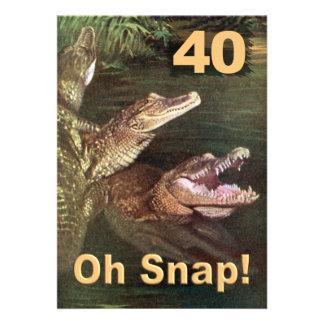 40 as invitaciones divertidas de la fiesta de cump