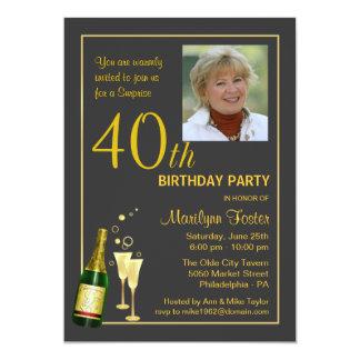 40.as invitaciones personalizadas de la foto de la comunicado personalizado