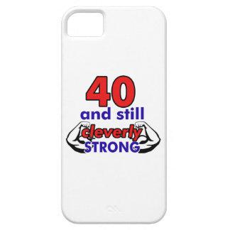 40 Birthday Design iPhone SE/5/5s Case
