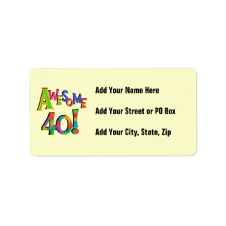 40 camisetas y regalos impresionantes del cumpleañ etiqueta de dirección