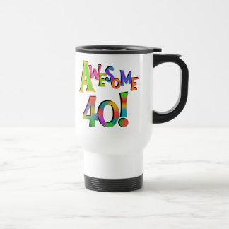 40 camisetas y regalos impresionantes del cumpleañ tazas de café