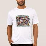 40+ Collage No.1 w/BLASA on Back Tee Shirts