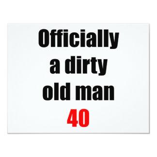 40  Dirty Old Man Card