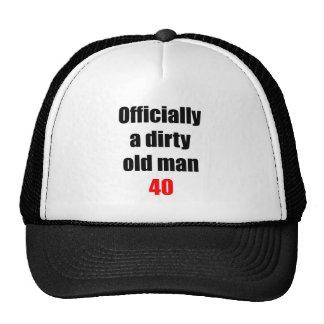 40  Dirty Old Man Trucker Hat